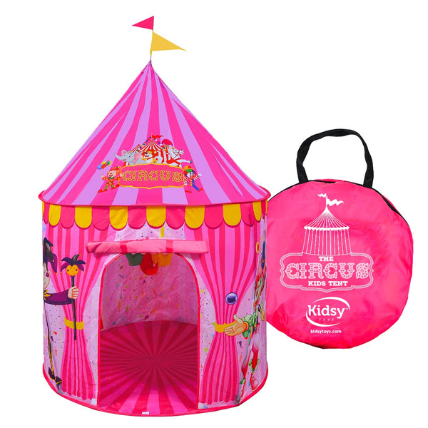 Kidsy® Children's Circus Play Tent.