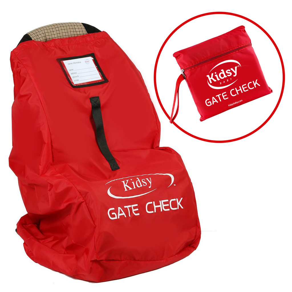Kidsy® Car Seat Travel Bag - Red