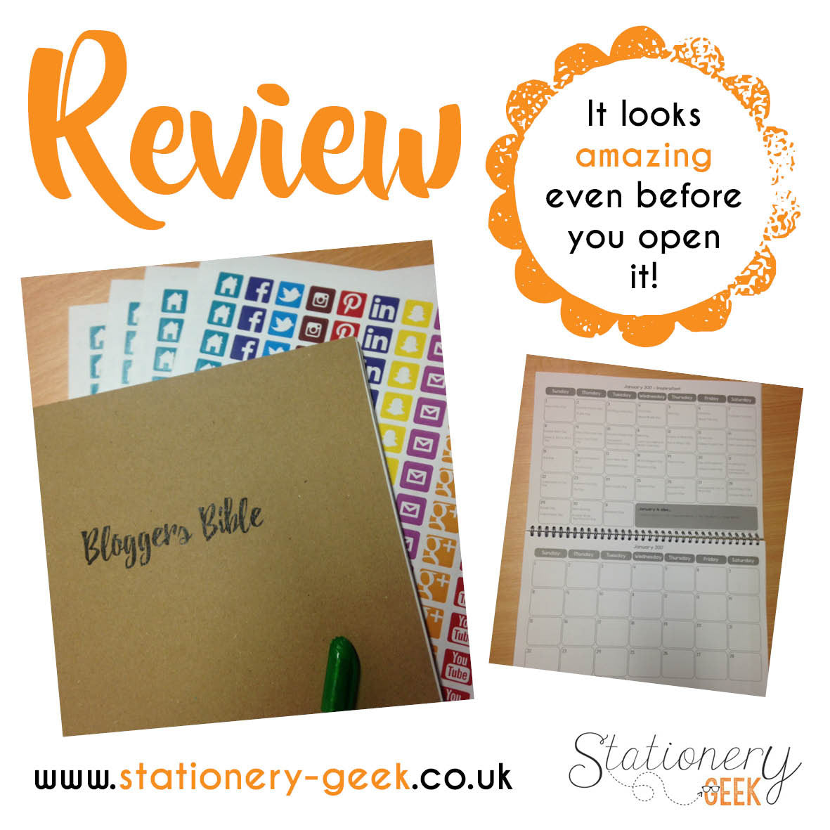 GUEST REVIEW - Bloggers Bible