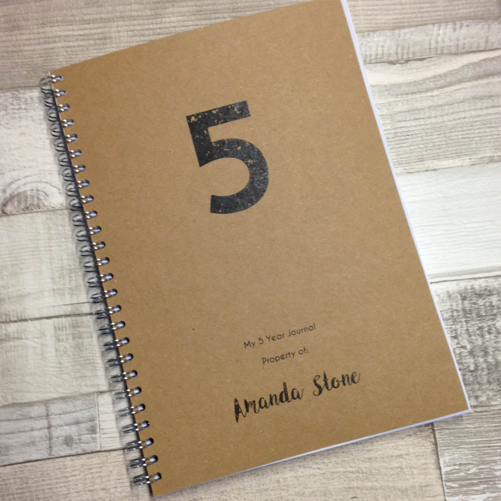 5 Reasons to Keep a 5 Year Journal!