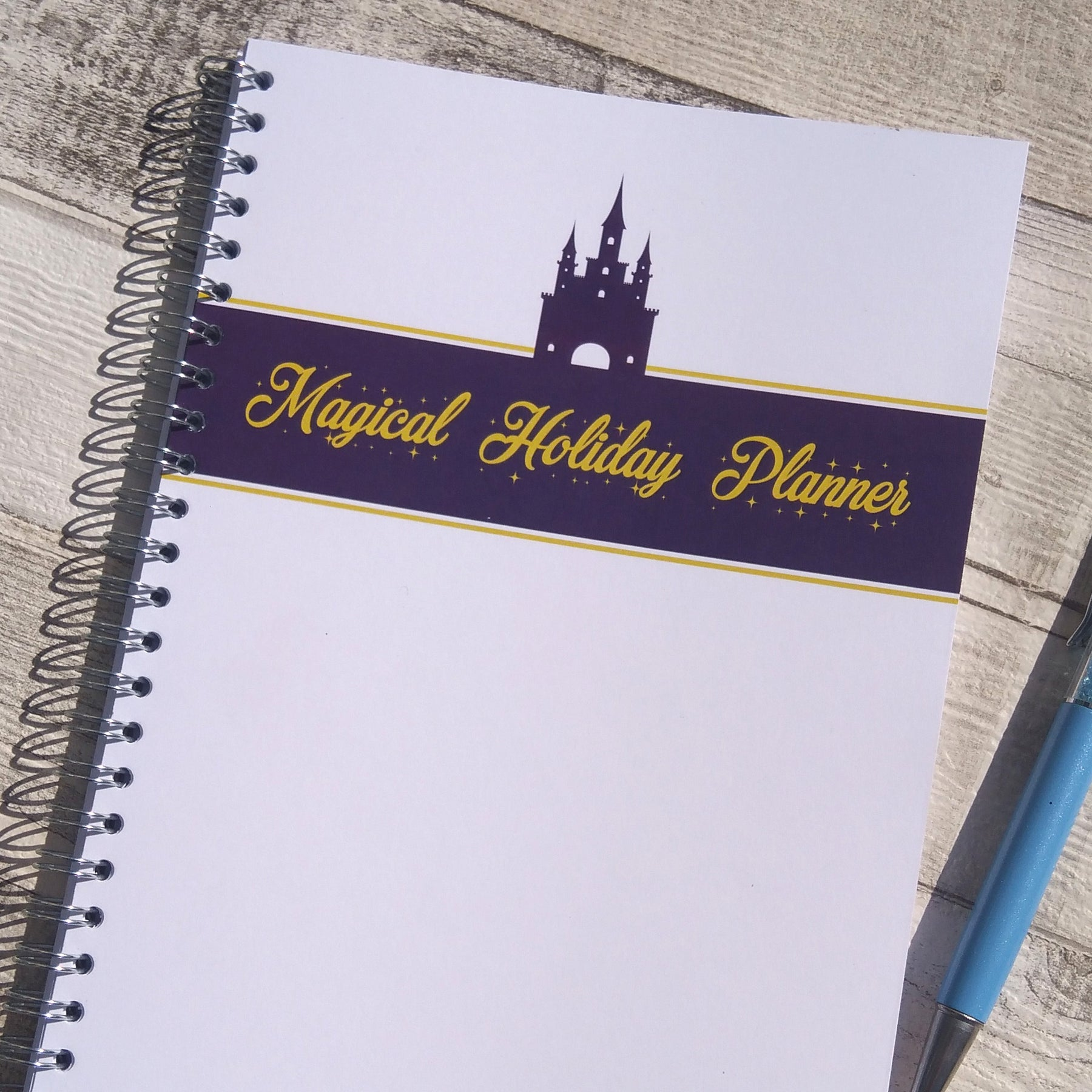 Make the most of a holiday to Disney by using Stationery Geek's Magical Holiday Planner