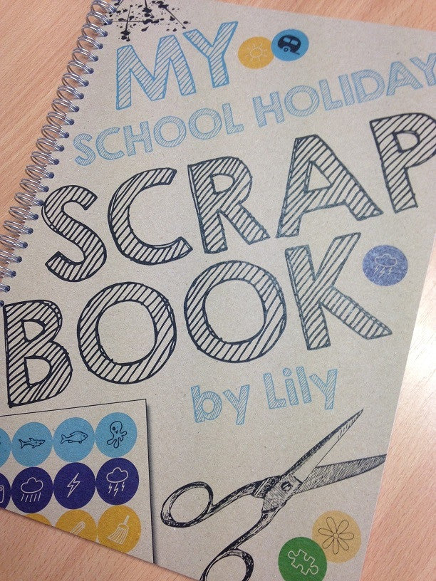 "Road testing the ""School Holiday Scrapbook"""