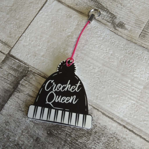 Crochet Queen - Badge, Charm or Magnet