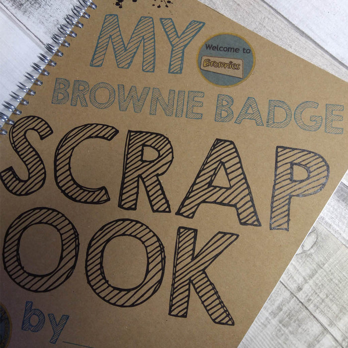 Brownie Badge Scrapbook