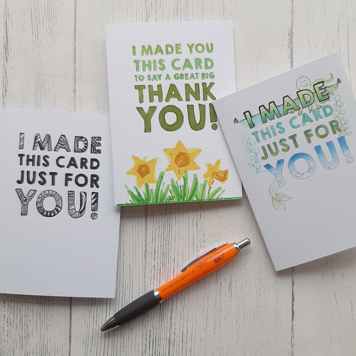 """Colour Me In"" Greetings Card Pack"