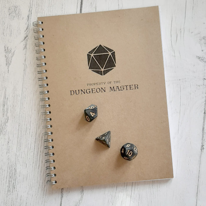 Dungeon Master Notebook