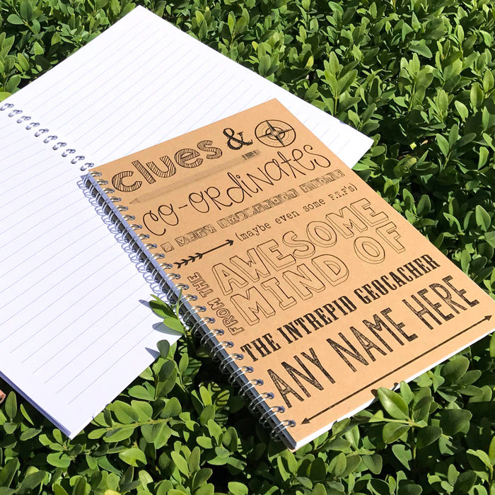 Geocacher Notebook - personalised