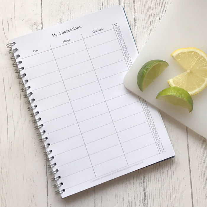 Gin Appreciation Journal