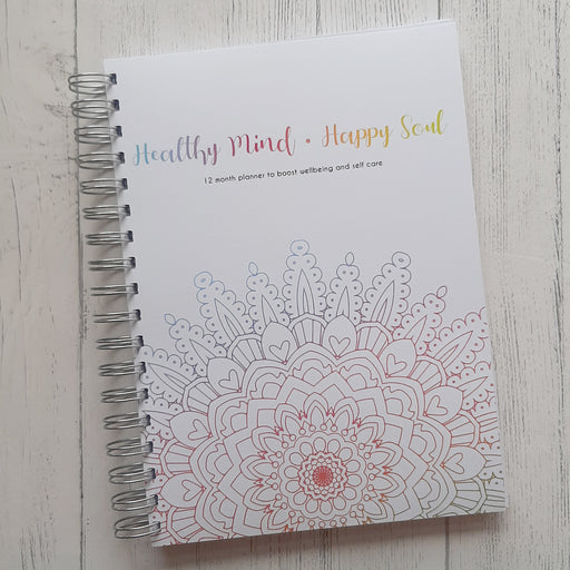 Healthy Mind, Happy Soul - 12 Month Planner