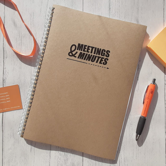 Meetings & Minutes Book