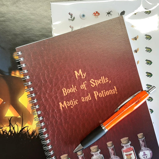 Spell Book with Stickers