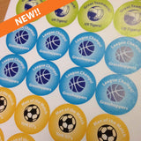 Sports Team Stickers