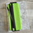 Wrap Around Pencil Case - Lime Green