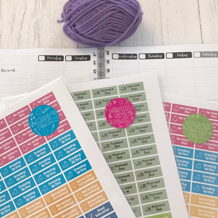 Winning at Life - 12 Month Planner - Yarn Lover's Edition!