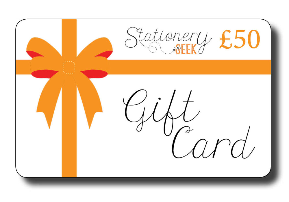"""Gift Card"" - Stationery Geek!"