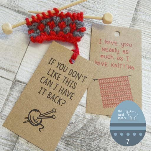 Honest Gift Tags - Knitting