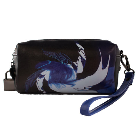 """VALLEY OF SHADOW"" GLASS POUCH by  DRAKE ARNOLD"