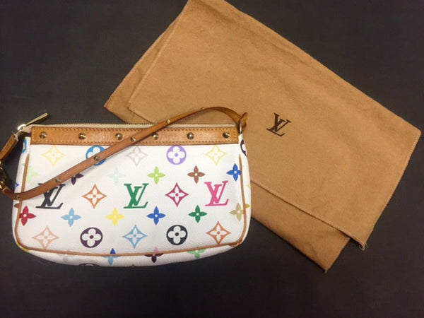 Louis Vuitton Limited Pouchette - White & Multicolor