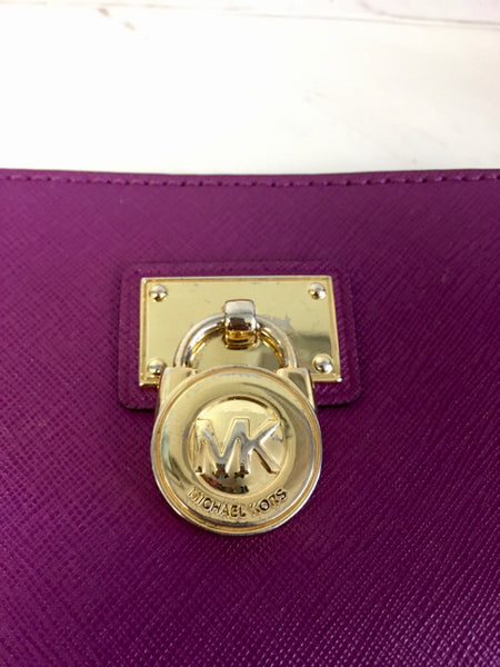 Michael Kors Purple Wallet