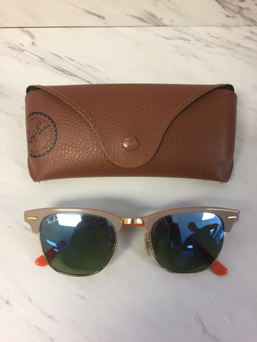 Ray Ban Cream Sunglasses