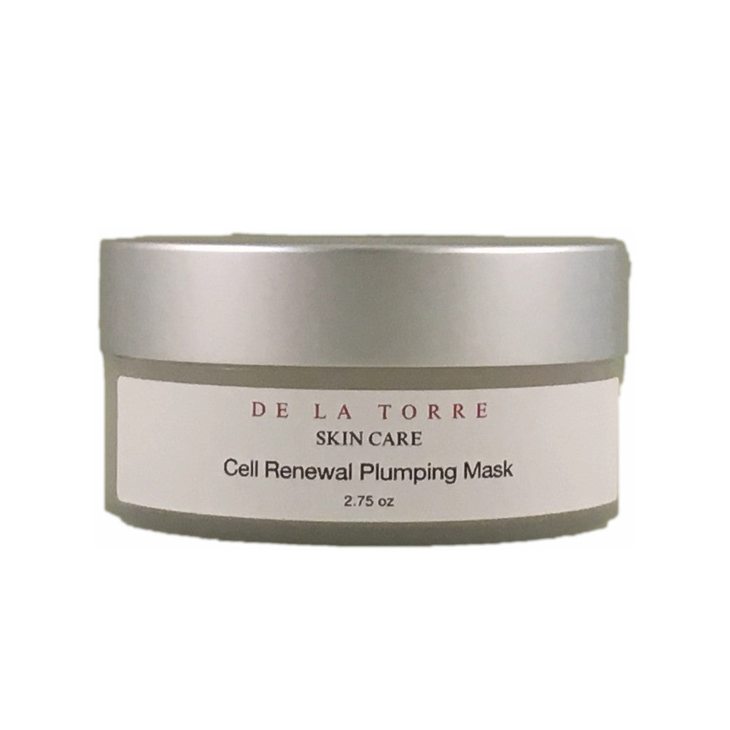 Cell Renewal Plumping Mask diminishes the look of fine lines, wrinkles and impacted pores,