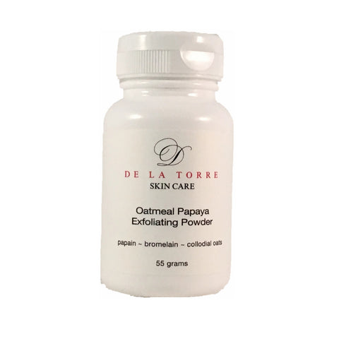 Oatmeal Papaya Exfoliating Powder Enzyme