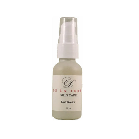 Nutritive Oil is a combination of richly nourishing oils.
