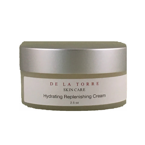 Hydrating Replenishing Cream is our heaviest moisturizer for dry skin