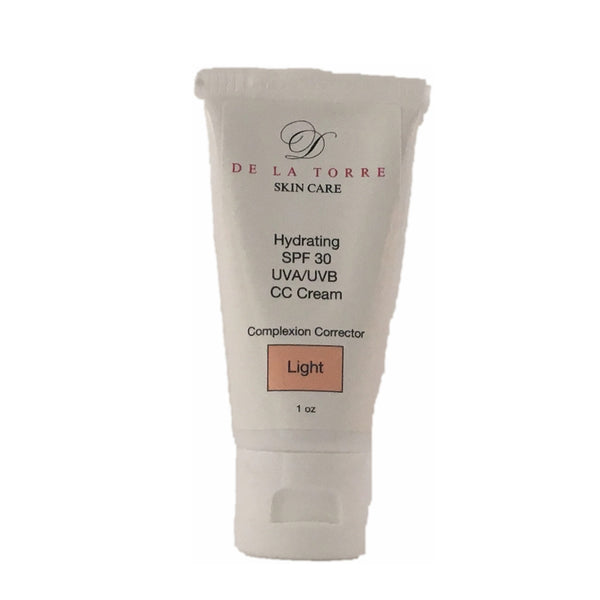 Hydrating SPF 30 Complexion Corrector with 25% Zinc Oxide (Light)