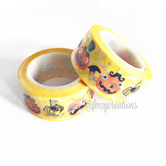 WASHI TAPE: HALLOWEEN SILLY PUMPKINS - From Me 2 You Creations
