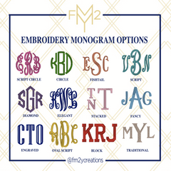 COMFORT COLORS MONOGRAMMED TSHIRT - From Me 2 You Creations