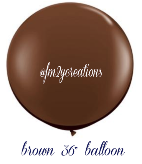 "36""  Round Latex Balloons 