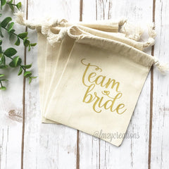 Team Bride Hangover Kit Bag