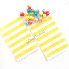 STAR PAPER STRAWS: Yellow - From Me 2 You Creations