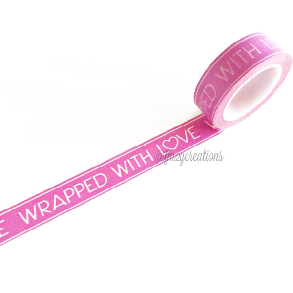 WASHI TAPE: PATTERN Wrapped in Love