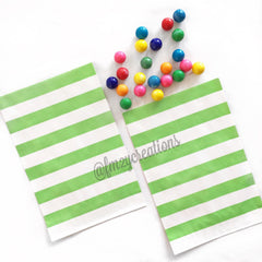 CIRCLE PAPER STRAWS: Green - From Me 2 You Creations
