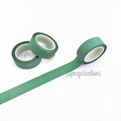 WASHI TAPE: GLITTER GREEN - From Me 2 You Creations
