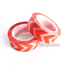 WASHI TAPE: CHEVRON ORANGE - From Me 2 You Creations