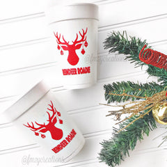 PARTY CUPS FOAM: CHRISTMAS LET'S GET ELFED UP - From Me 2 You Creations
