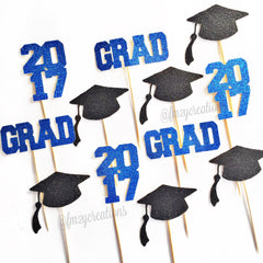Cupcake Toppers: Graduation - From Me 2 You Creations