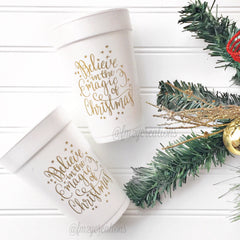 PARTY CUPS FOAM: CHRISTMAS MAGIC - From Me 2 You Creations