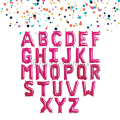 "Magenta Mylar 40"" Letter Balloon 