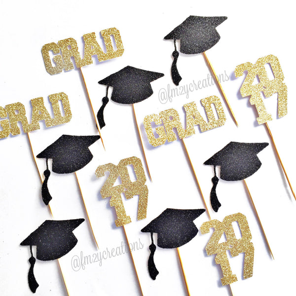 Cupcake Toppers: Graduation