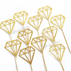 Cupcake Toppers: Diamond - From Me 2 You Creations