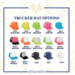 Team Bride Bachelorette Trucker Hats