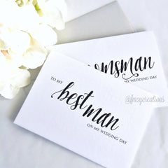 THANK YOU WEDDING CARD | BROTHER - From Me 2 You Creations
