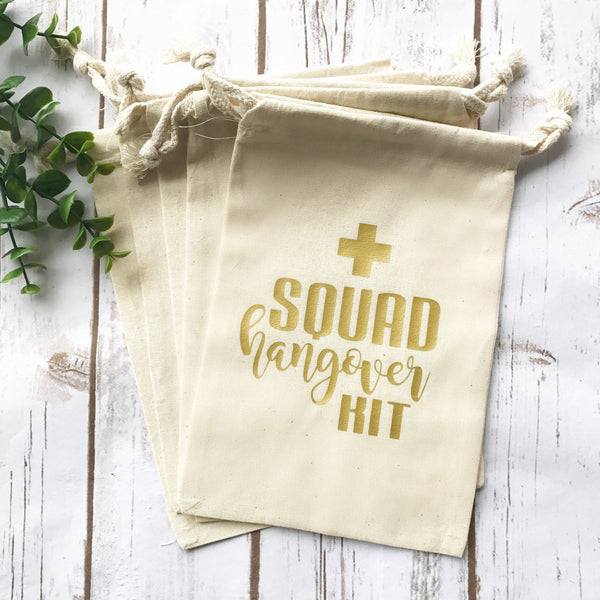 Bride Squad Hangover Kit Bag