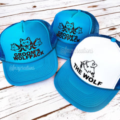TRUCKER HAT | WOLF & Wolfpack - From Me 2 You Creations