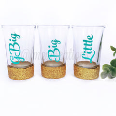 Custom Sorority Shot Glass