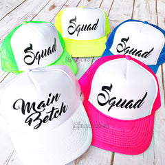 Custom Neon Trucker Hats